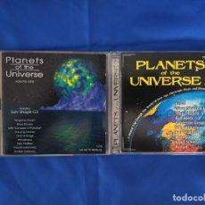 CDs de Música: PLANETS OF THE UNIVERSE.4 CDS.KLAUS SCHULZE.TANGERINE DREAM. Lote 276581643