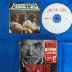 CDs de Música: PACK.APHRODITES CHILD Y DEMIS.VANGELIS. Lote 276584093