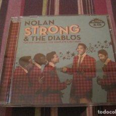 CDs de Música: CD NOLAN STRONG & THE DIABLOS COMPLETE EARLY SIDES EL TORO REC. DOO WOP. Lote 276610638