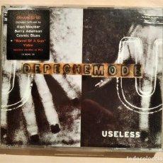 CDs de Música: DEPECHE MODE, USELESS, CDBONG28, ESPAÑA 1997, ENHANCED CD CON VIDEO, COMO NUEVO (NM_NM). Lote 276666283