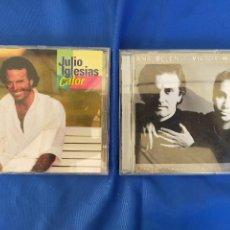 CDs de Música: VICTOR Y ANA.Y JULIO IGLESIAS.2 CDS. Lote 276667918