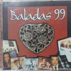 CDs de Música: BALADAS 99 - 2 CDS LAS MEJORES BALADAS DEL MOMENTO - VARIOS ARTISTAS 1999. Lote 276683098
