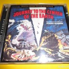 CDs de Música: JOURNEY TO THE CENTER OF THE EARTH / VIAJE AL CENTRO DE LA TIERRA / BERNARD HERRMANN / CD. Lote 276690413