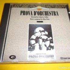 CDs de Música: PROVA D´ORCHESTRA / ENSAYO DE ORQUESTA / NINO ROTA / ORIGINAL SOUNDTRACK / BANDA SONORA / CD. Lote 276691778