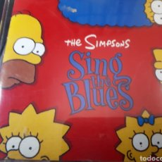 CDs de Música: THE SIMPSONS SING IN THE BLUES. Lote 276693513