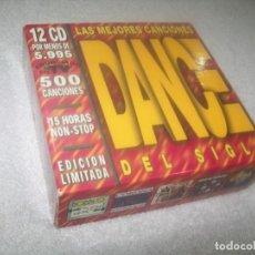 CD de Música: DANCE DEL SIGLO XX - 12 CD CON LAS 500 MEJORES CANCIONES DANCE DEL SIGLO XX (1999) - NON STOP. Lote 276700758