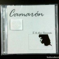 CDs de Música: CAMARON - TE LO DICE CAMARÓN - CD REMASTERIZADO 2005 - UNIVERSAL (NUEVO / PRECINTADO). Lote 276720593