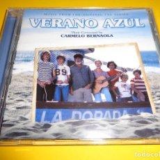 CDs de Música: VERANO AZUL / BANDA SONORA / CARMELO BERNAOLA / EDICIONES ROSETTA / BSO / CD. Lote 276722783