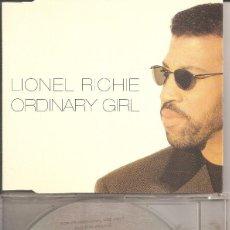 CDs de Música: LIONEL RICHIE - ORDINARY GIRL (CDSINGLE CAJA PROMOCIONAL, MERCURY 1996). Lote 276737228