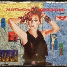 CDs de Musique: MADONNA - BORDERLINE U.S. REMIX - CD SINGLE - ALEMANIA - EXCELENTE - NO USO CORREOS. Lote 276733313