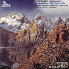 CDs de Música: SYMPHONY + THE FANTASTICKS / BERNARD HERRMANN CD. Lote 276754428