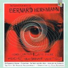 CDs de Música: THE CLASSIC FILM MUSIC / BERNARD HERRMANN CD BSO. Lote 276754623