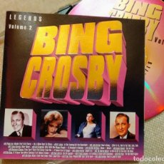 CDs de Música: CD BING CROSBY, LEGENDS VOL.2, 1995 LECD 119 , COMO NUEVO (NM_NM). Lote 276783343