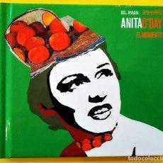 CDs de Música: ANITA O´DAY - EL MOMENTO, 2007, DIGIBOOK, EL PAIS, ESTRELLAS DEL JAZZ-17 (NM_NM). Lote 276784318