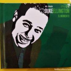 CDs de Música: DUKE ELLINGTON - EL MOMENTO, 2007, DIGIBOOK, EL PAIS, ESTRELLAS DEL JAZZ-25 (NM_NM). Lote 276784688