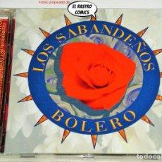 CDs de Musique: LOS SABANDEÑOS, BOLERO, CD MANZANA, 1995, COLAB. OLGA GUILLOT, SILVIO RODRÍGUEZ, LA LUPE Y BENY MORÉ. Lote 276923933