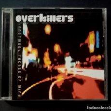 CDs de Música: OVERKILLERS - INNERMOST RECESS OF MIND - CD 2002 - STARLUXE. Lote 276945078