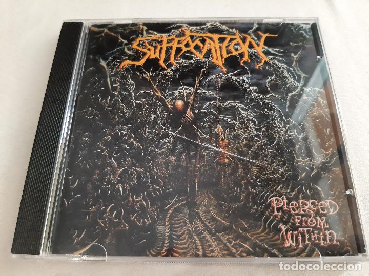SUFFOCATION -PIERCED FROM WITHIN- CD (Música - CD's Heavy Metal)