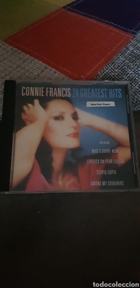 CD CONNIE FRANCIS (24 GREATEST HITS) (Música - CD's Otros Estilos)