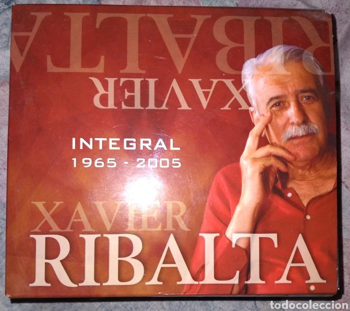 XAVIER RIBALTA, INTEGRAL 1965-2005, CONTIENE 9 CD ACEPTO OFERTAS (Música - CD's Otros Estilos)