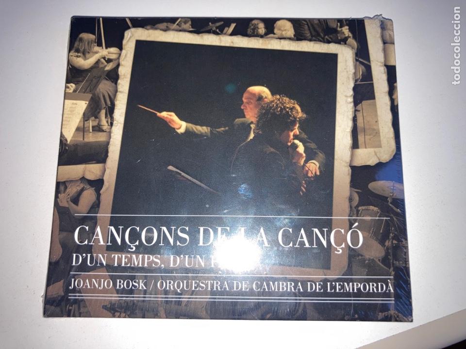 CD CANÇONS DE LA CANÇO - D'UN TEMPS, D'UN PAÍS - ORQUESTRA DE CAMBRA DE L'EMPORDÀ - 2008 - NUEVO - (Música - CD's Otros Estilos)