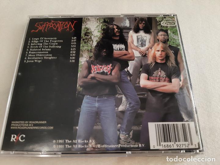 CDs de Música: SUFFOCATION -EFFIGY OF THE FORGOTTEN- (2006) CD - Foto 3 - 276963318