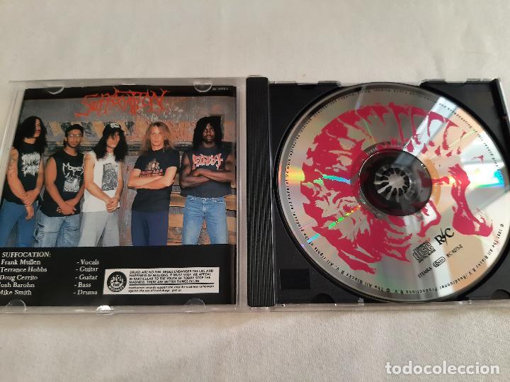 CDs de Música: SUFFOCATION -EFFIGY OF THE FORGOTTEN- (2006) CD - Foto 5 - 276963318