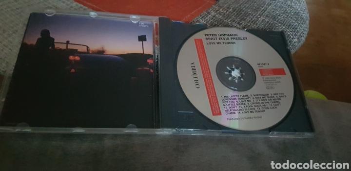 CDs de Música: CD PETER HOFMANN SINGT ELVIS PRESLEY (LOVE ME TENDER) - Foto 3 - 276963573