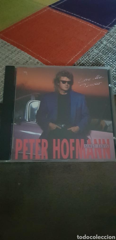 CD PETER HOFMANN SINGT ELVIS PRESLEY (LOVE ME TENDER) (Música - CD's Otros Estilos)
