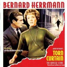 CDs de Música: TORN CURTAIN -THE UNUSED SCORE- / BERNARD HERRMANN CD BSO - VARESE. Lote 276968948
