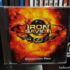 CDs de Musique: IRON SAVIOR - CONDITION RED. Lote 276988778