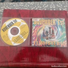 CDs de Música: CD SINGLE PROMO - NOVEMBER 1ST - EL MISTERIO 3 TEMAS. Lote 277015123