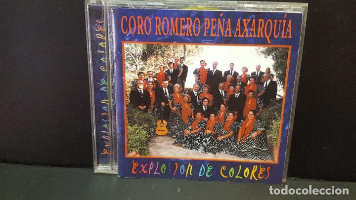 CORO ROMERO PEÑA AXARQUIA EXPLOSION DE COLORES CD ALBUM DEL AÑO 1999 11 TEMAS PEPETO (Música - CD's Flamenco, Canción española y Cuplé)