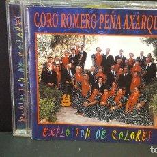 CDs de Música: CORO ROMERO PEÑA AXARQUIA EXPLOSION DE COLORES CD ALBUM DEL AÑO 1999 11 TEMAS PEPETO. Lote 277033173
