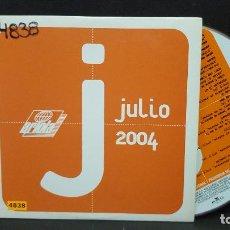 CDs de Música: ARIOLA JULIO 2004 CD ALBUM PROMO CARTON JOAQUIN SABINA EL CANTO DEL LOCO JULIETA VENEGAS PEPETO. Lote 277033353