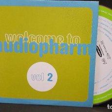 CDs de Música: PROMO CD WELCOME AUDIOPHARM VOL 2 13 TEMAS 2005 PEPETO. Lote 277033593