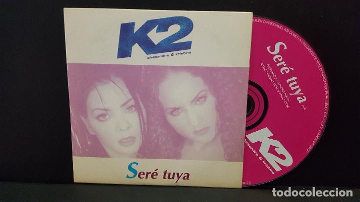 K2 (ALEKSANDRA & KRISTINA) / SERE TUYA (CD SINGLE CARTON PROMO 1998) PEPETO (Música - CD's Pop)
