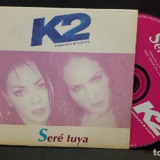 CDs de Música: K2 (ALEKSANDRA & KRISTINA) / SERE TUYA (CD SINGLE CARTON PROMO 1998) PEPETO. Lote 277033828