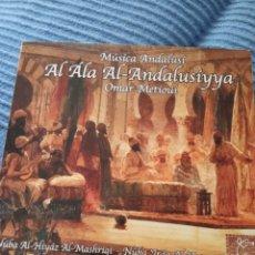 """CDs de Música: CD OMAR METIOUI """" AL ALA AL-ANDALUSIYYA """". Lote 277037168"""