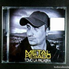 CDs de Música: METAL PESADO - TOMO LA PALABRA - CD 2011 - METAL PESADO. Lote 277049368