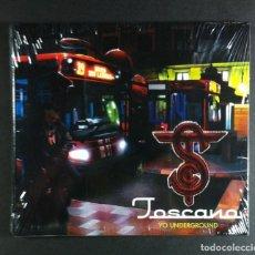 CDs de Música: TOSCANO - YO UNDERGROUND - CD 2006 - ZONA BRUTA (NUEVO / PRECINTADO). Lote 277069148
