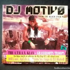 CDs de Música: DJ MOTIV8 - GRASSROOTS TROOPS - CD 2011 - JWS RECORDS (NUEVO / PRECINTADO). Lote 277070618