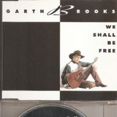 CDs de Música: GARTH BROOKS - WE SHALL BE FREE/THE RIVER/MR. BLUE (CDSINGLE CAJA, LIBERTY RECORDS 1992). Lote 277073798