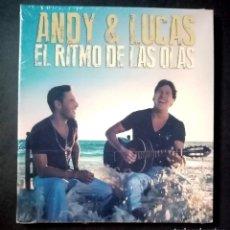 CDs de Música: ANDY & LUCAS - EL RITMO DE LAS OLAS - CD 2012 - SONY (NUEVO / PRECINTADO). Lote 277073883