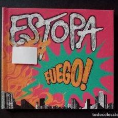CDs de Música: ESTOPA - FUEGO - CD DIGIBOOK 2019 - SONY (NUEVO / PRECINTADO). Lote 277075228