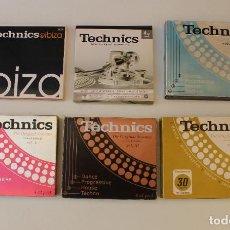 CDs de Música: LOTE DE 6 VOLUMENES - TECHNICS - THE ORIGINAL SESSIONS - 22 CD´S - DEL 1998 AL 2002 MAS IBIZA 2006. Lote 277076608