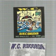 CDs de Música: W.C. RECORDS PUNK REDICAL SKA ETC ESPAÑOL. Lote 277078748