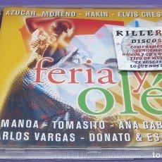 CDs de Música: FERIA Y OLÉ - CD. Lote 277079018