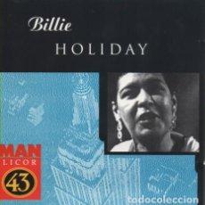 CDs de Música: BILLIE HOLIDAY. Lote 277079023