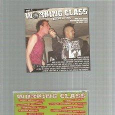 CDs de Música: WORKING CLASS VOL 1 PUNK ROCK ESPAÑOL. Lote 277079093